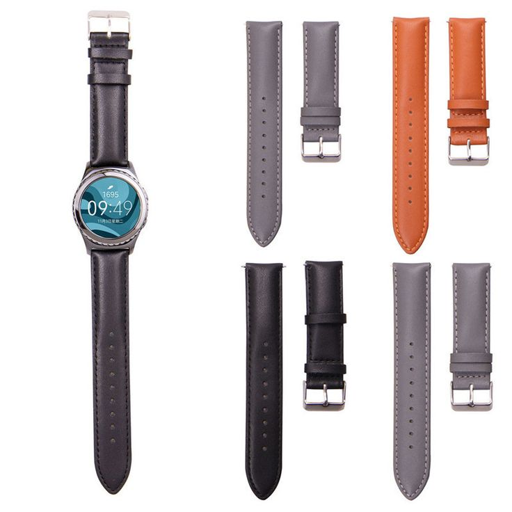 >> Click to Buy << 20mm Leather Strap Replacement Watchbands For Samsung Galaxy Gear S2 Classic R732 Correa Reloj 3 Colors Watch Accessories #Affiliate