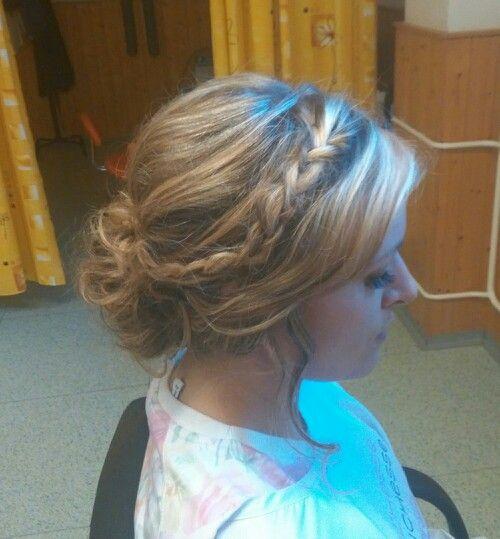 Wedding hair trial (flowers missing)