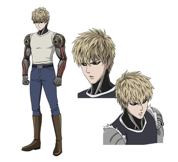 ONE PUNCH MAN Genos (ジェノス, Jenosu), Alias Demon Cyborg, is a 19 year old cyborg and a self-proclaimed disciple of Saitama. He is always aiming to become stronger and fights for justice. As a registered Superhero, he is in the S-Class, at rank 14, Voice Actor Kaito Ishikawa, Episode 1 http://onepunchman.wikia.com/wiki/Demon_Cyborg
