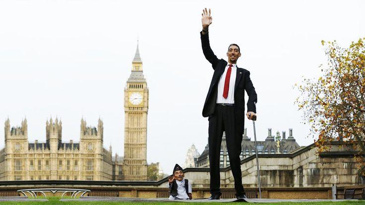 ТОП 5 - Самые ВЫСОКИЕ люди в Мире! Буффалский гигант, Добрый великан и д...