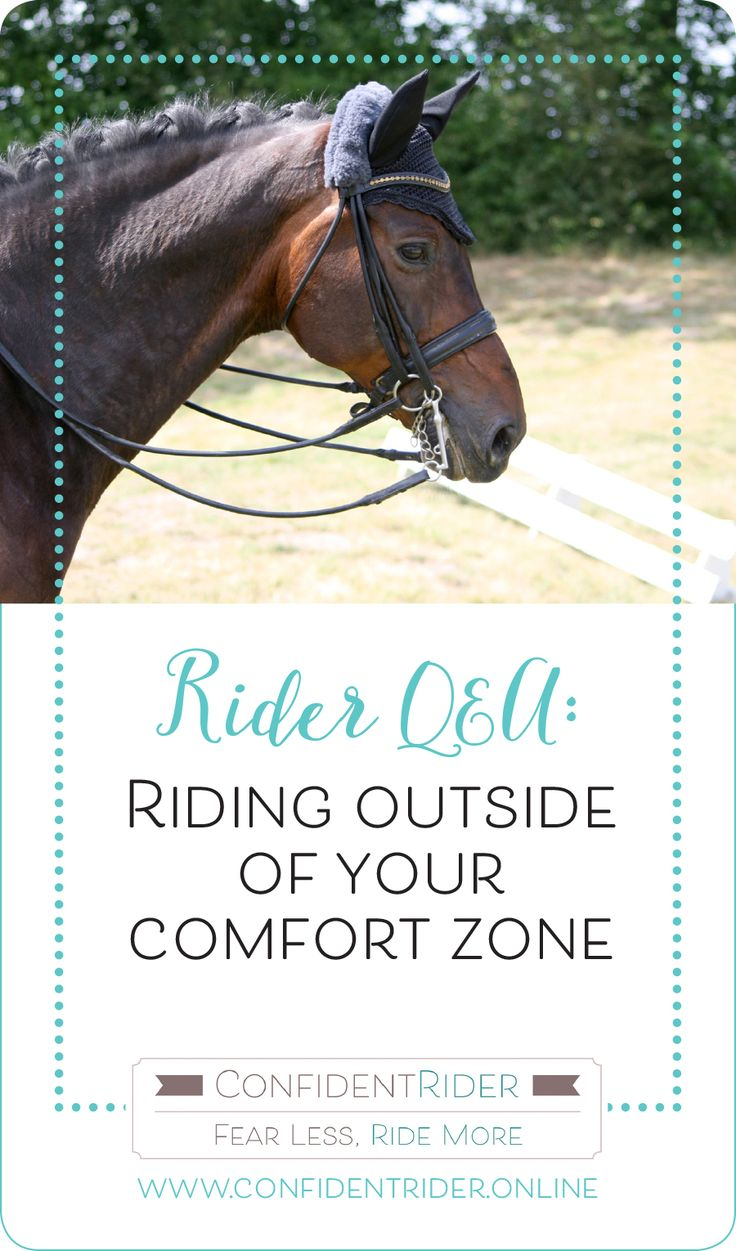 """Jessica Newtons asks:  """"I am confident in an indoor arena, but outside on a trail or outdoor arena my confidence disappears. I am looking for things for my horse to spook at and waiting for him to spook…which means he is looking for things to spook at!"""".  I discuss a plan of action for incrementally increasing your comfort zone!"""