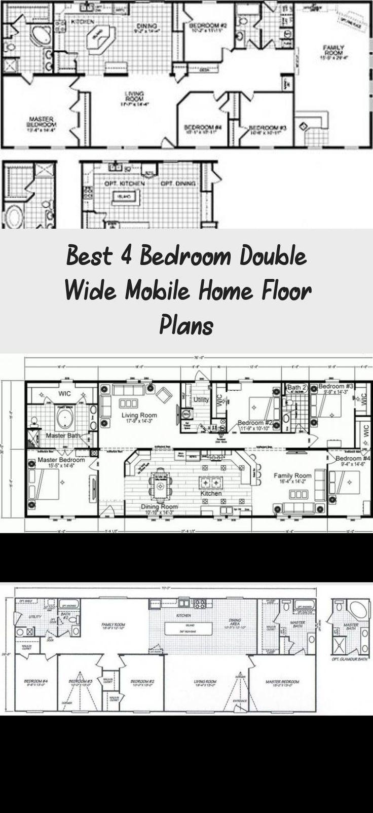 Double Wide Floor Plans 4 Bedroom - Google Search ...