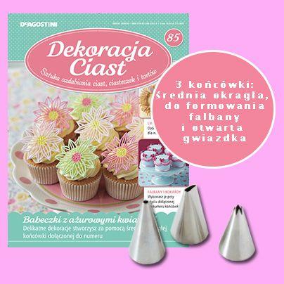 Numer 85 Dekoracji Ciast. Sprzedaż archiwalna: http://sklep.deagostini.pl/dekoracja-ciast-numer-85.html