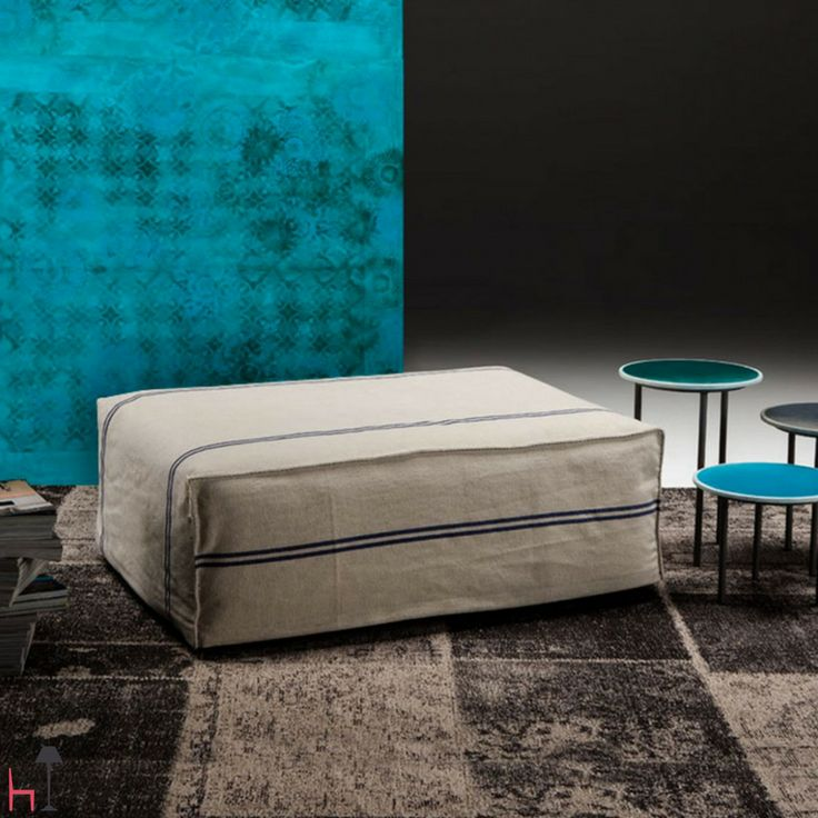 Post Pouff by FishDesignMarket is the comfortable ottoman for your home.