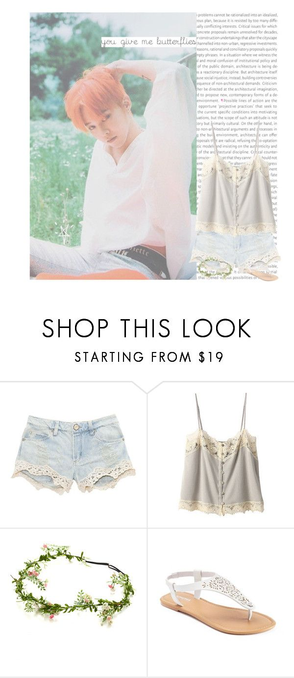 """you give me butterflies"" by hitthisfeeling ❤ liked on Polyvore featuring Bilitis dix-sept ans and SONOMA Goods for Life"