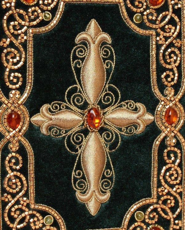 Галерея работ Марии Назаркиной.Золотое шитьё
