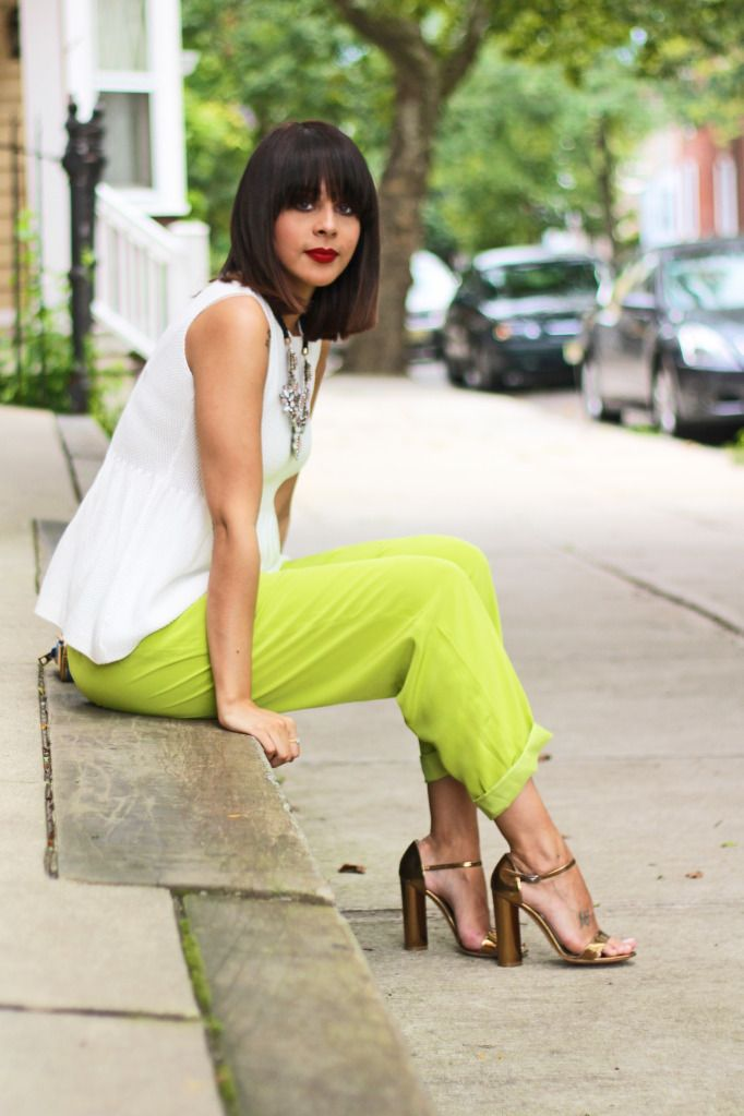Fashion Bananas - Her style is ALWAYS on Point! One of my favs...