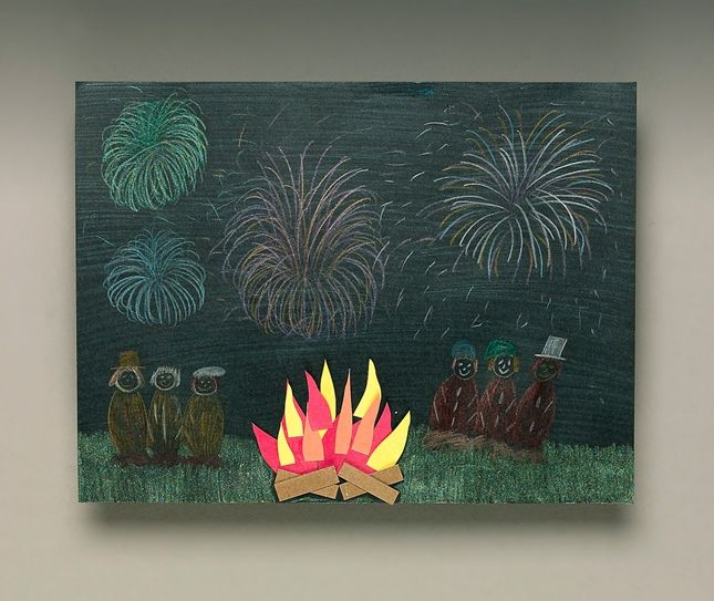 Find out how Bonfire Night is celebrated in England today then use Crayola® Gel Markers to make your own bonfire and fireworks scene.