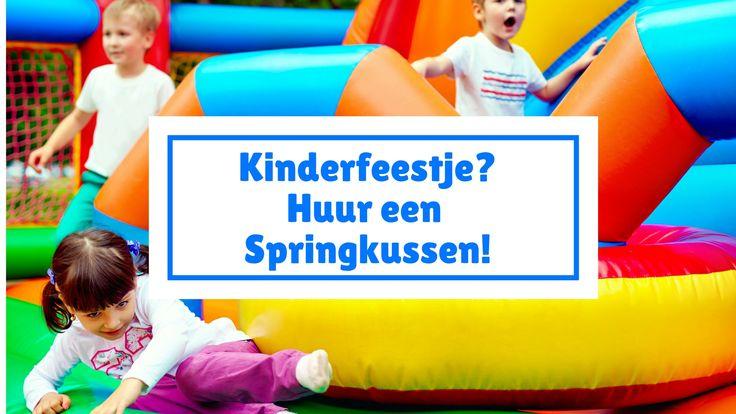 Wij zijn druk bezig met het organiseren van de kinderverjaardagsfeestje. We denken erover dit jaar een springkussen huren, gewoon thuis in de tuin. #blogfeestje