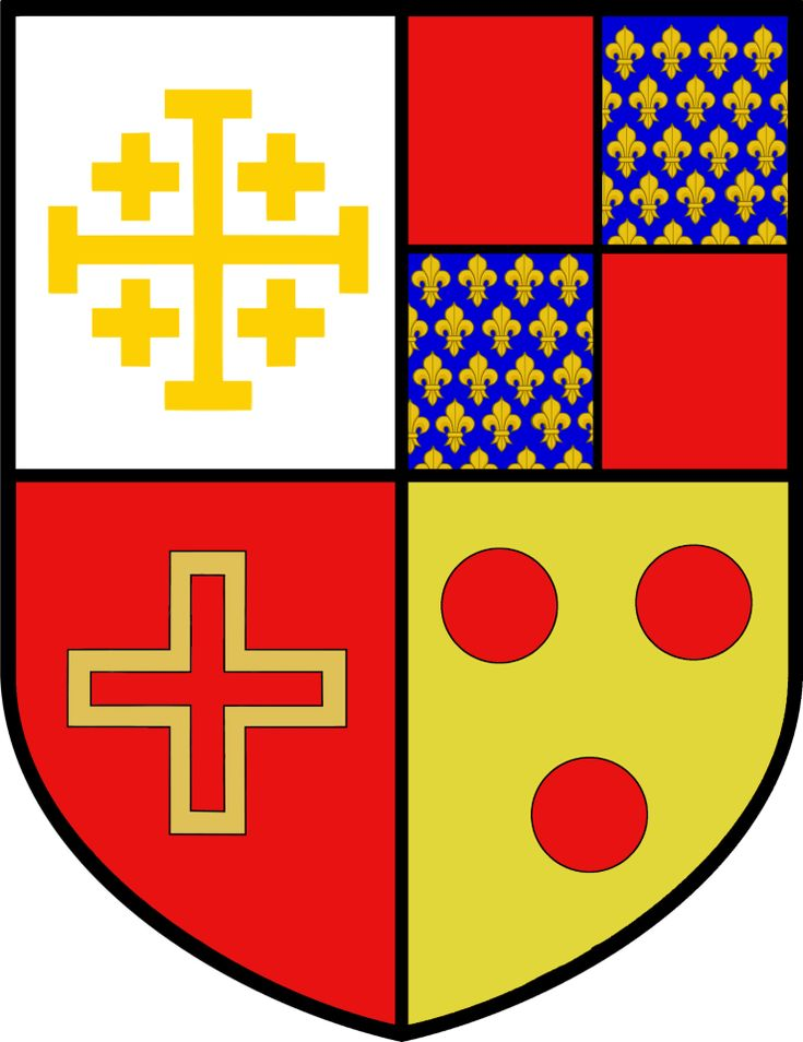 Crusader States Coat of Arms by williammarshalstore