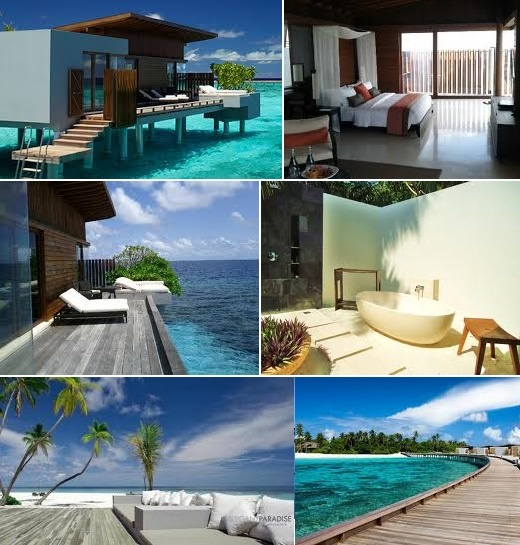 The Park Hyatt, Maldives ----- Don't know that I'll want to leave!!
