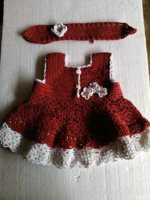 kreasi baju rajutan bayi