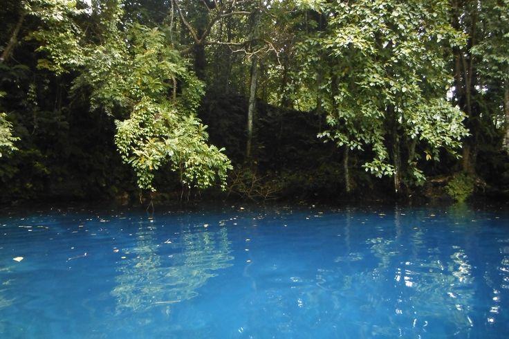 Blue Lagoon in Port Villa, Vanuatu.