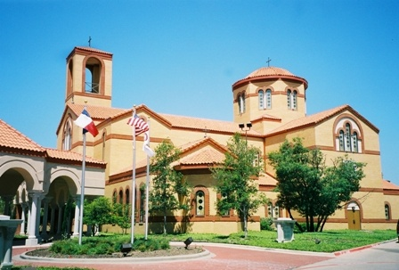 My church in Dallas, Holy Trinity: Beautiful Church, Orthodox Church, Greek Wedding, Trinity Greek, Greek Orthodox, Dfw Wedding, Dallas Wedding, Things Greek, Holy Trinity