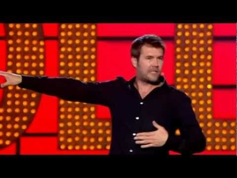 Rhod Gilbert Live At The Apollo, the only man I know who can create a whole act surrounding an argument about an egg and cress sandwich…
