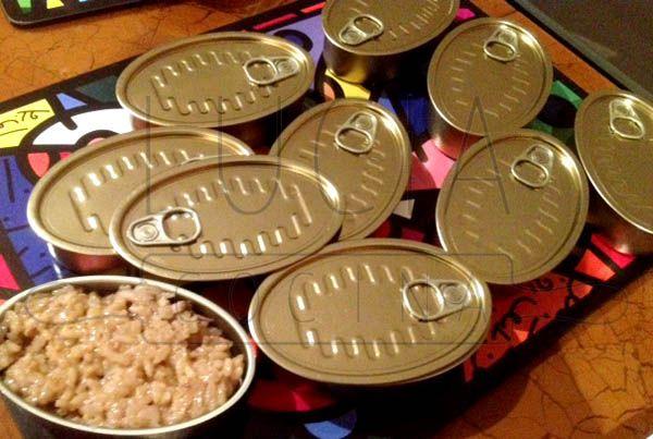 Arroz de setas y aceite de trufa http://luciacocinabogota.blogspot.com/2014/06/evento-comida-celebracion-familiar.html