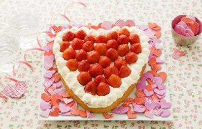 Recept voor Aardbeientaart in bakboek - Koopmans.com