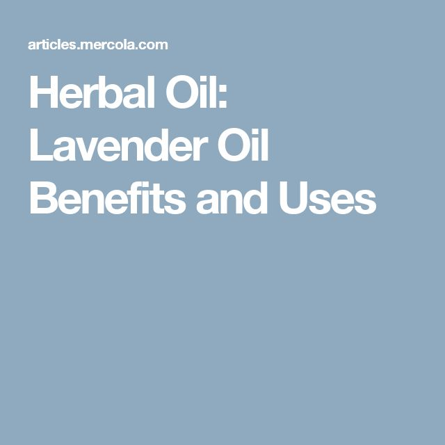 Herbal Oil: Lavender Oil Benefits and Uses