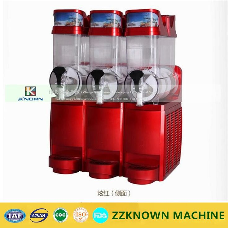 Commercial Stainless Steel three cylinder Ice Slush Machine | Smoothie Slush Machine //Price: $US $1278.00 & FREE Shipping //     #homeappliance24