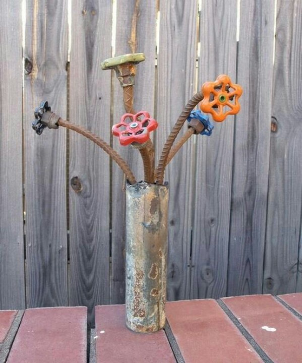 images about for the gardenrepurposing for fun on, repurposed garden decor, repurposed outdoor decor