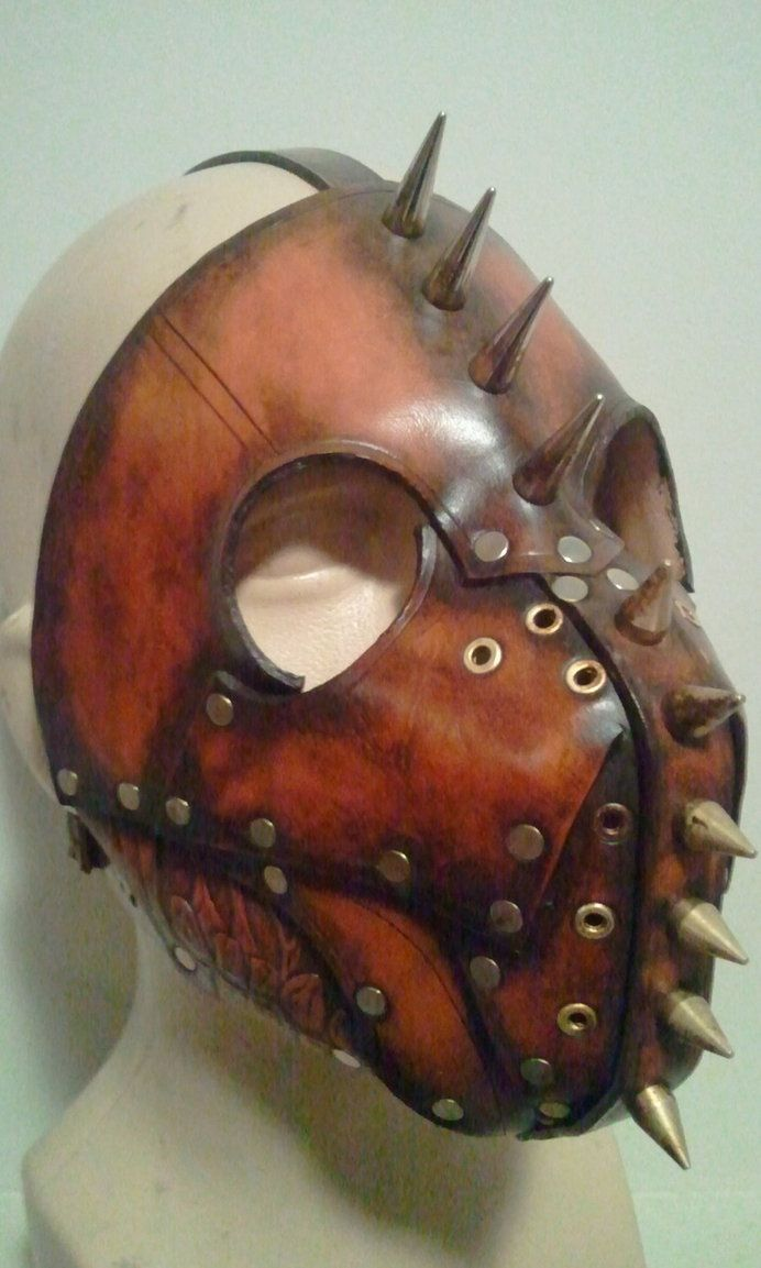 ஜ Tittle: Hell Hound Leather Mask ~ by *Skinz-N-Hydez ~ http://Skinz-N-Hydez.deviantart.com/art/Hell-hound-leather-mask-280713482 ஜ