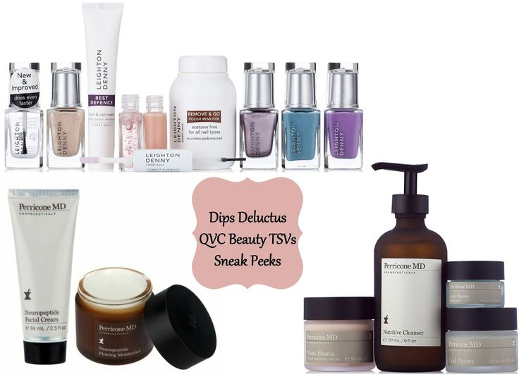 Leighton Denny and Perricone MD June TSVs