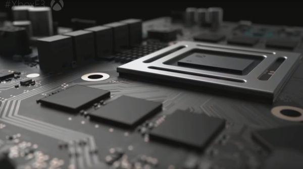 """E3 2016, Microsoft presenta Scorpio, la console di prossima generazione http://www.sapereweb.it/e3-2016-microsoft-presenta-scorpio-la-console-di-prossima-generazione/        Una delle poche """"immagini"""" della prossima Xbox L'annuncio con cui Microsoft dà il via alla sua conferenza è stato, in realtà, ampiamente smascherato da ore: trattasi, infatti, della Xbox One S di cui già vi avevamo parlato. Confermate tutte le caratteristiche: disco fisso da due terabyte..."""