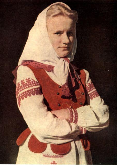 FolkCostumeEmbroidery: Embroidery of Horodok County, Halychyna, Ukraine