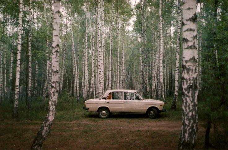 #lada #forest #90s #sad #russia #postsoviet #lonely