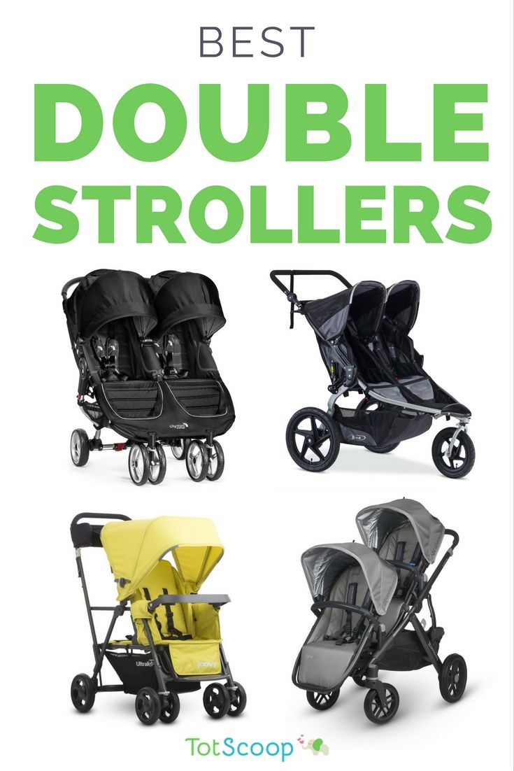 Our editors' top picks for the best double strollers, from side-by-sides to joggers to convertibles! | TotScoop