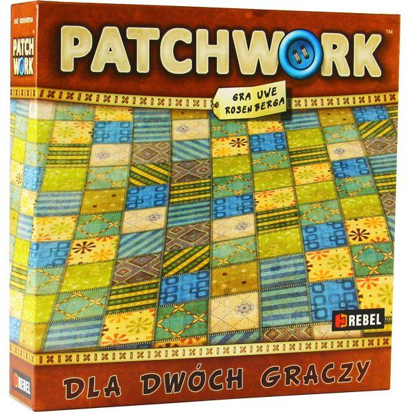Patchwork – dwuosobowa rodzinna gra planszowa