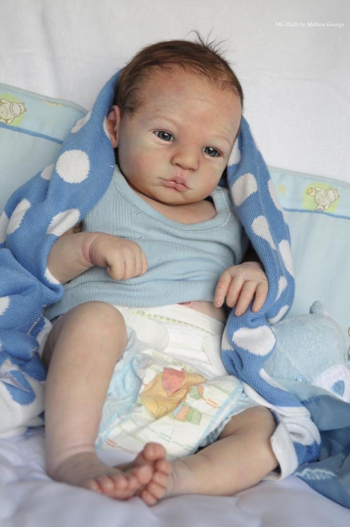 Melissa George Reborn Baby Prototype Lillebror Extremely