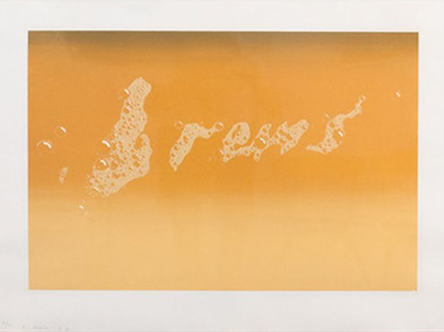 Ed Ruscha | Brews (1970) | Available for Sale | Artsy