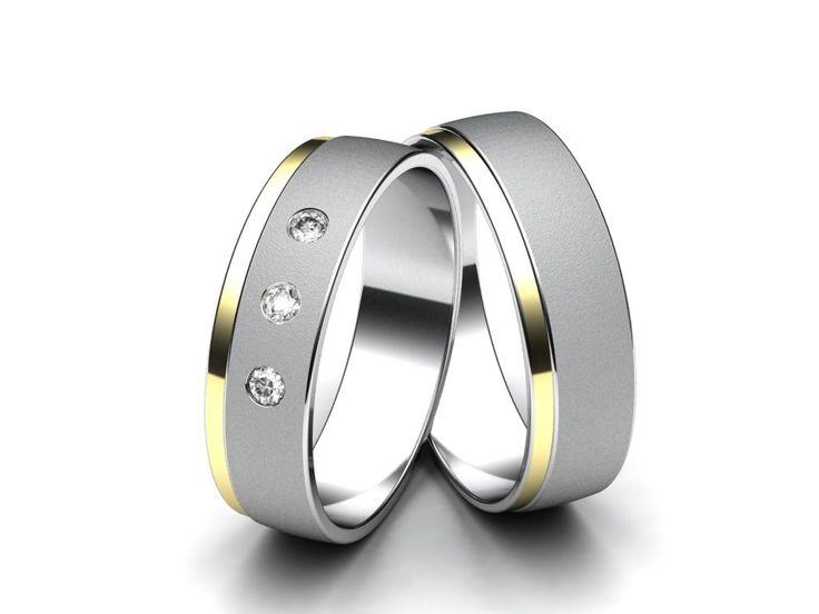 Snubní prsteny A2663  #aiola #wedding #rings