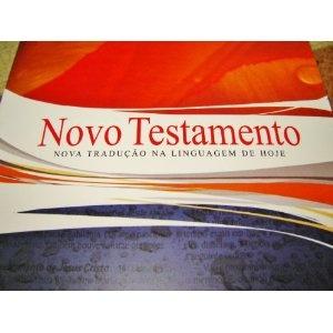 Portugese New Testament / Portuguese Language NT with Maps and Dictionary / Novo Testamento Nova traducao na Linguagem de Hoje / Biblia A Prova D' Gua  $49.99