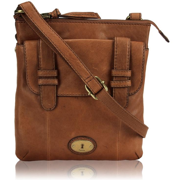Fossil Carson Top Zip Crossbody Bag #VonMaur