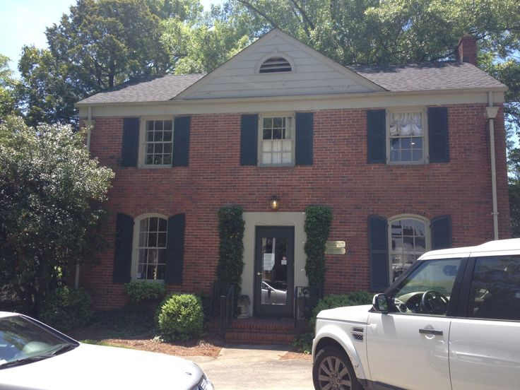 We are currently red brick with a deep beige trim and green shutters description from - Commercial exterior painting style ...