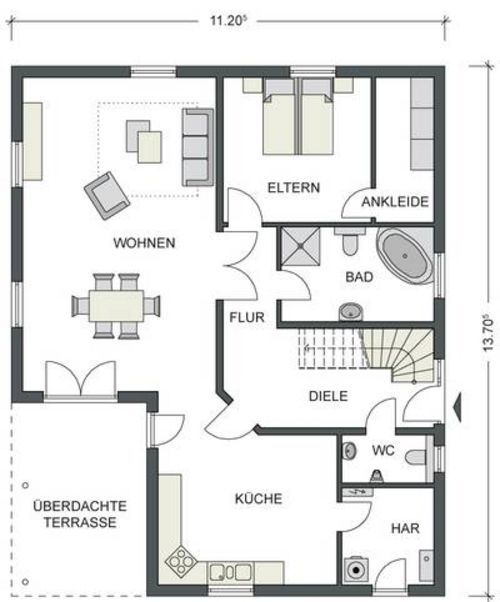 1075 best Floor Plans images on Pinterest House blueprints - plan 3 k che