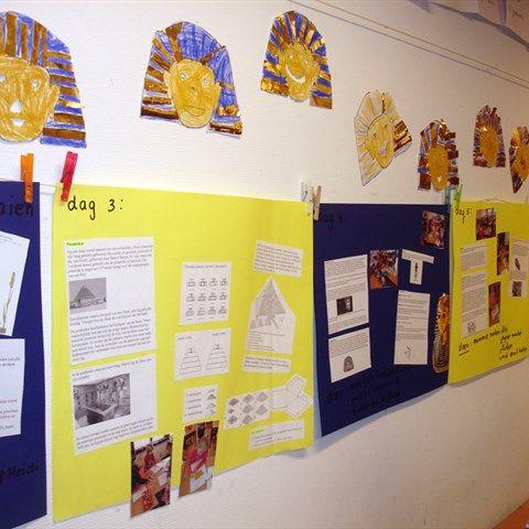 Project Egypte - ideeën thema 1 Brandaan groep 7