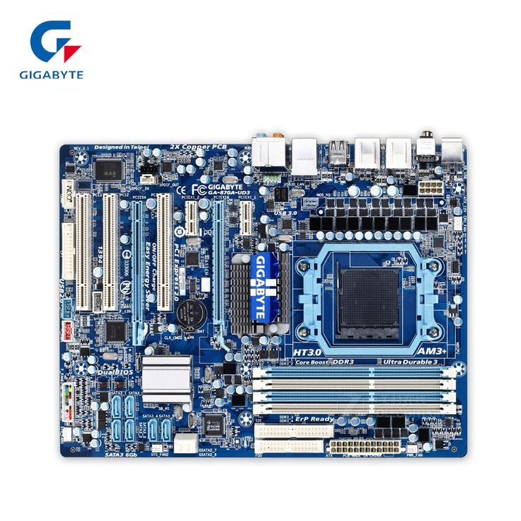 Original Gigabyte GA-870A-UD3 Desktop Motherboard 870 Socket AM3 DDR3 SATA3 USB3.0 ATX 100% Fully Test #Affiliate