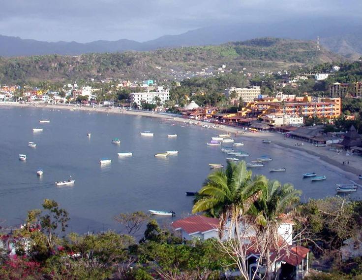 Rincon de Guayabitos, Nayarit, Mexico. Stayed at the Decameron Los Cocos, the colorful buildings.