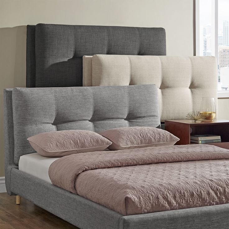 1000 ideas about padded headboards on pinterest cloth for Modern bedhead design