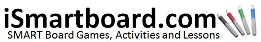 Welcome to iSmartboard.com – Here you will find Smart Board games, activities and lessons for Reading, Writing ELA, Math, Science, Social Studies, Art, Health, Physical Education P.E., Library, Music and Foreign Language.