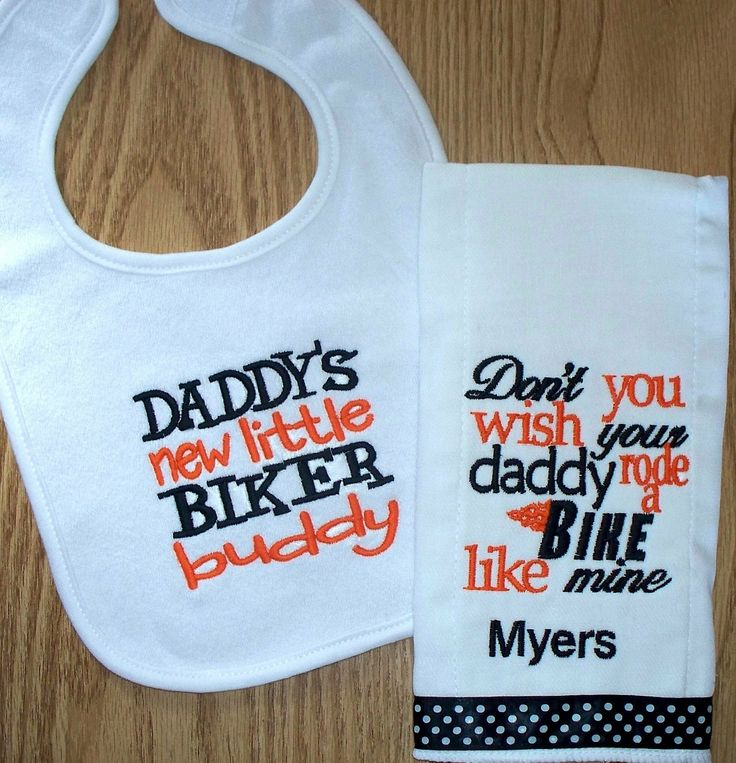 Motorcycle Baby Boy Gift Set Donu0027t You Wish By LittleTexasBabes, $22.00