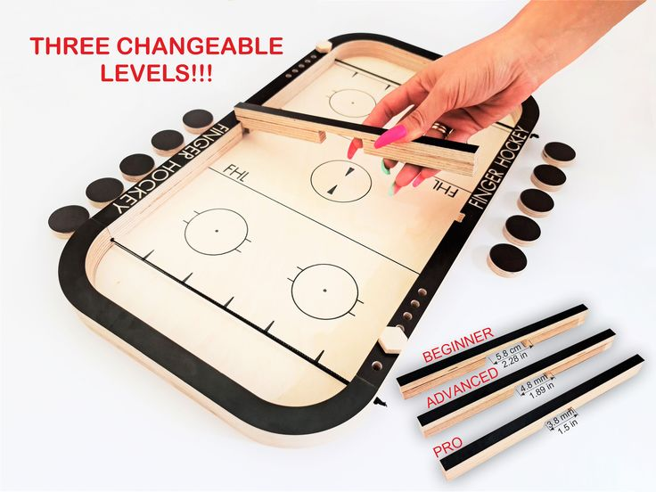 Finger Hockey Puck Game Puck Board Game Family Board Games Fast Sling Puck Game Games For Kids Christmas Gifts Birthday Gifts Table Games Family Board Games Board Games Diy Diy Wooden Games