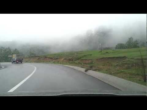 Transalpina - cu masina prin nori / by car through the clouds