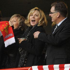 Kim Cattrall: The English actress famous for her role in 'Sex and the City' was born in Liverpool before emigrating to Canada three months later. The actress, who was a guest of Steven Gerrard against Chelsea last season, revealed in an interview that the Reds captain is quite the theatre buff and had been to see one of her recent plays.