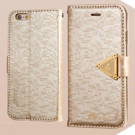 Apple iPhone 6 Kultainen Leiers Suojakotelo  http://puhelimenkuoret.fi/tuote/apple-iphone-6-kultainen-leiers-suojakotelo/