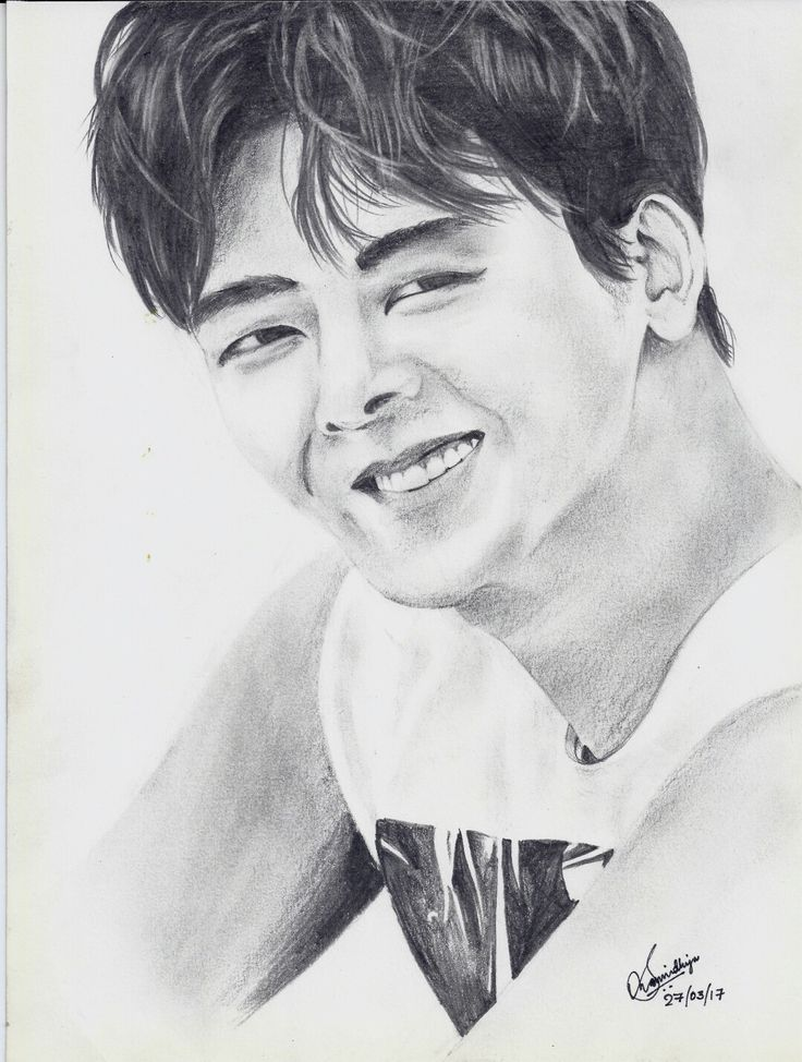 Hoya/ Lee Howon ~ 이호원 Sorry to have messed up his face. But did it in a hurry to finish before his birthday, so🙏