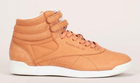 Reebok Sneakers montantes cognac Hi Face pas cher prix Baskets Femme Monshowroom 99.00 €